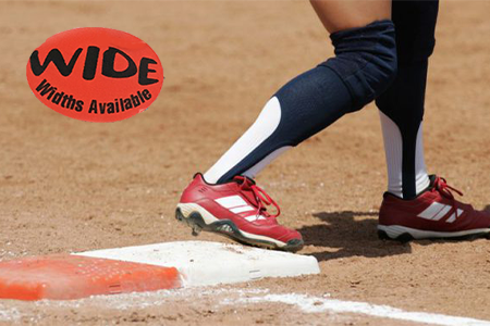 Wide Softball Cleats for Kids