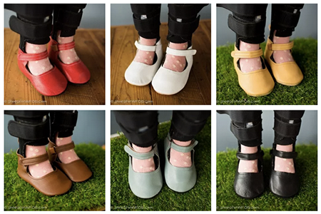Kids Mary Jane Shoes for AFOs