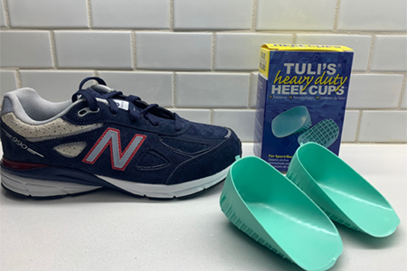 How to Fit Heel Cups in Kids' Shoes