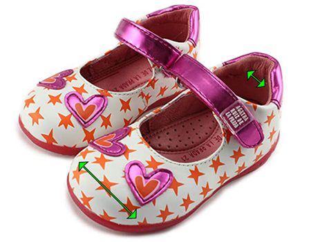 Mary Jane Shoes for Kids with Narrow Heels and Wide Toe-Box