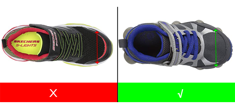 Wide Light Up Shoes for Kids