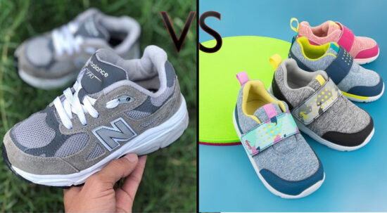 Velcro Shoes Versus Shoes with Shoelaces