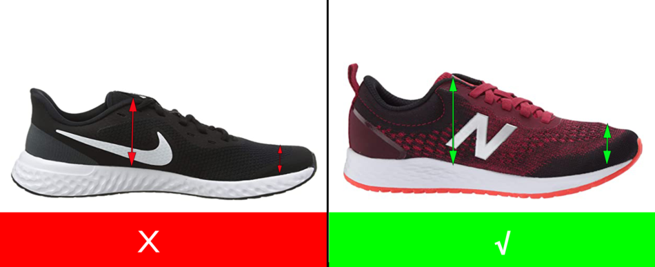 Wide Running Shoes for Kids