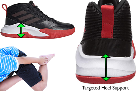 basketball-shoes-for-kids-with-heel-pain