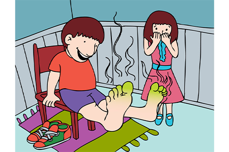 kids-with-smelly-feet