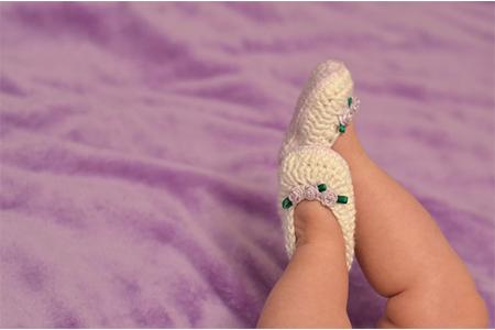 newborn-crochet-booties