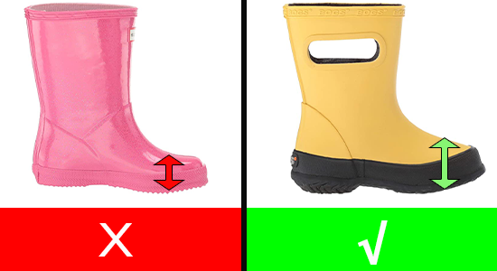 Best Rain Boots for Kids with High Instep