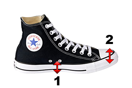 Converse Shoes for AFOs