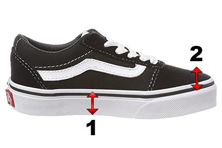 Vans Shoes for AFOs